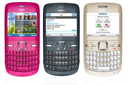 Nokia C3 to pierwszy telefon literowy pozbawiony systemu Symbian